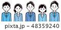 ビジネス 会社員 チームのイラスト 48359240