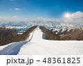 日本 スキー 空の写真 48361825