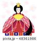 雛人形お雛様 48361986