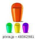 バケツ 桶 プラスチックのイラスト 48362981