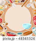 クッキング 料理 調理のイラスト 48365326