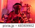 アフリカ系アメリカ人 占師 女の写真 48369902