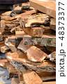 薪 木 木材の写真 48373377