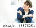 女性 若い女性 ポートレートの写真 48376251