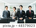 オフィス ビジネスマン ビジネスの写真 48379023