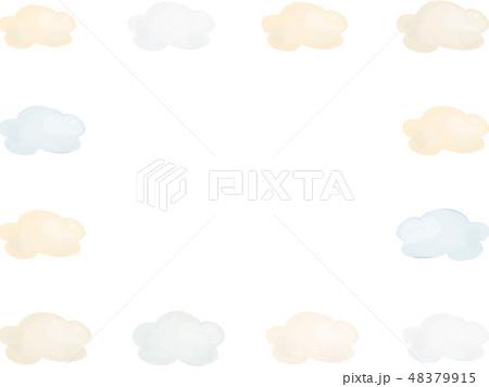 雲のフレーム 48379915