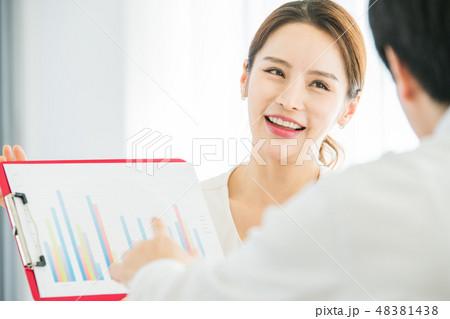 男女 ビジネス  48381438