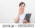 笑顔の若い看護師 48382833