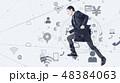 ビジネス ビジネスマン ネットワークの写真 48384063