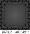 黒色 黒 ブラックのイラスト 48384952