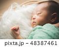 コピースペース ベビー 乳児の写真 48387461