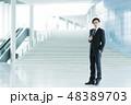 ビジネス ビジネスマン 男性の写真 48389703