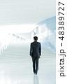 ビジネス ビジネスマン 男性の写真 48389727