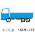 トラック 自動車 乗用車のイラスト 48391144