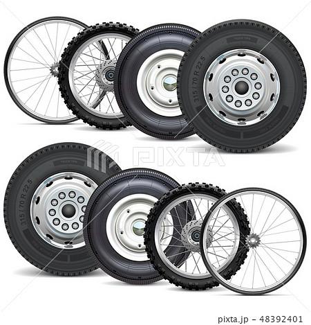 Vector Vehicle Wheels Double Set 48392401