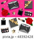 化粧 化粧品 口紅のイラスト 48392428