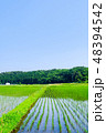 風景 日本 農業の写真 48394542