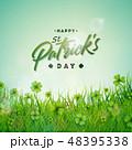 パトリック クローバー ベクターのイラスト 48395338