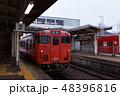 城端線 電車 列車の写真 48396816