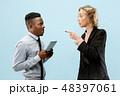 女の人 女性 ビジネスマンの写真 48397061