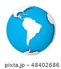 地球 世界 ベクターのイラスト 48402686