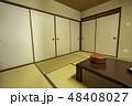 山口 萩 日本旅館 和室 畳  48408027
