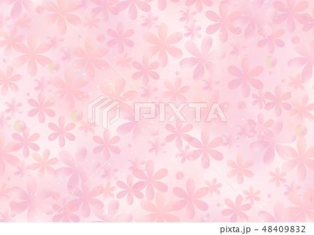 花柄の背景素材 48409832