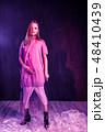 ファッション 流行 女性の写真 48410439