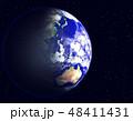 地球 星 宇宙のイラスト 48411431