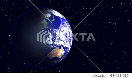 地球(星あり) 48411436