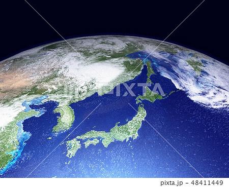 地球(日本アップ) 48411449