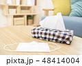 花粉症イメージ マスク ティッシュ 48414004