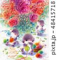花を編む 48415718