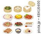 ベクター 食べ物 中華料理のイラスト 48416400