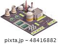 工場 力 パワーのイラスト 48416882