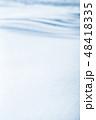 雪 積雪 冬の写真 48418335