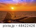 【海ほたる 夕日】 48422426
