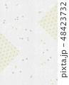 和柄 麻の葉模様 模様のイラスト 48423732