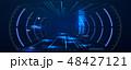 ディスプレイ 未来 真のイラスト 48427121