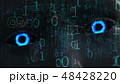 アンドロイド ヒューマノイド ロボットのイラスト 48428220