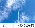 飛行機雲 48428943