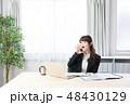 女性 ビジネスウーマン ノートパソコンの写真 48430129