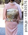 着物姿の女性 48430576