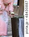 着物姿の女性 48430887