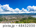 オアフ島 風景 空の写真 48432030