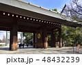靖国神社 神門(東京都千代田区) 48432239