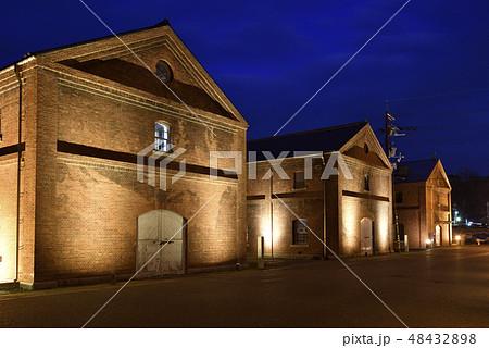 舞鶴赤れんがパーク 赤れんが倉庫群 夜景ライトアップ(京都府舞鶴市) 48432898