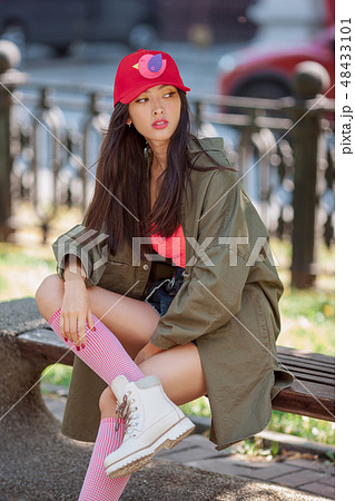 Asian woman fashion photo 48433101