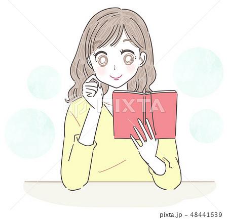 若い女性 手帳 スケジュール 48441639