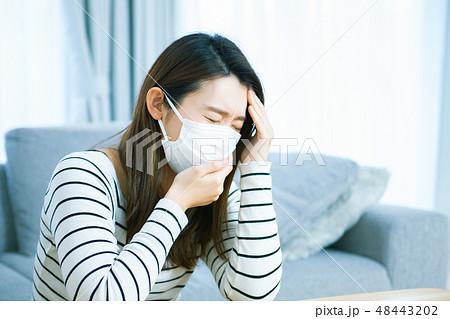 風邪 体調不良  48443202